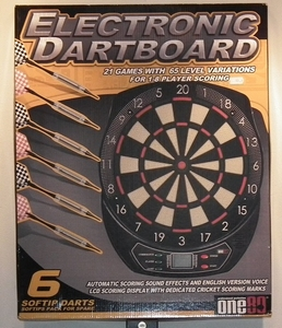 Eletronic Dartboard one80 0311