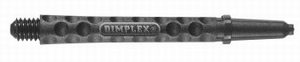 Harrows Dimplex Shaft MED Black 48mm