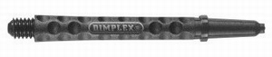 Harrows Dimplex Shaft Short Black 35mm