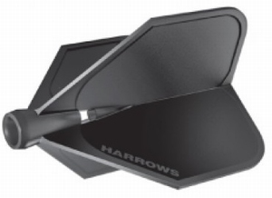 Harrows Clic flight Black FOR USE WITH CLIC STEMS ONLY