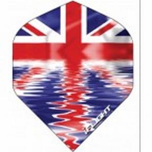 I flight 0011 Engelse vlag