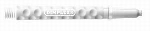 Harrows Dimplex Shaft Short White 35mm