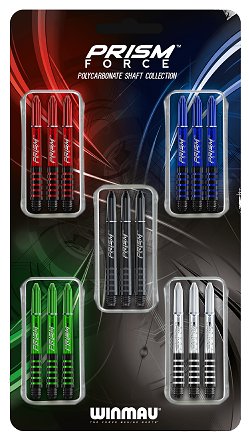 Winmau Prism Force Shaft Colection