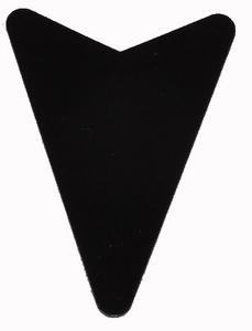 Flight Shape zwart Arrowhead