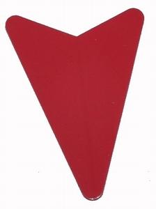 Flight Shape rood Arrowhead
