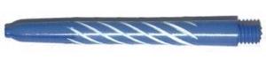 Shaft Nylon Spiroline Med Bleu/White