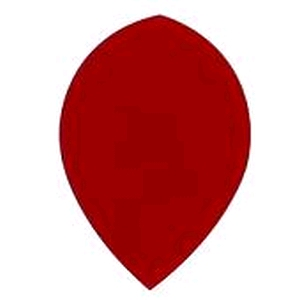 Flight Poly Plain Pear Red