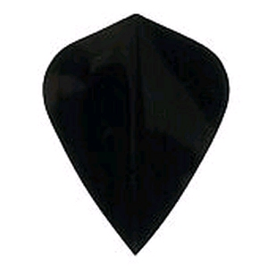 Flight Poly Plain Kite Black