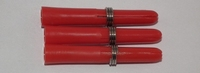 M3 Shaft Nylon Kort Rood