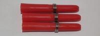 M3 Shaft Nylon Kort Rood